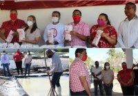 PRI agradece a Sal Real de Colima la donación de una tonelada de sal