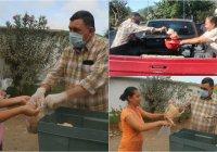 Alcalde Carlos Carrasco y DIF municipal benefician a 750 familias de Ixtlahuacán con pollo lavado