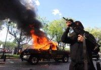 Queman patrullas en Jalisco por muerte de Giovanni López
