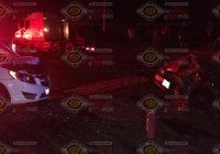 Fuerte accidente en la carretera libre Armería-Manzanillo, deja a un lesionado grave y cuantiosos daños materiales