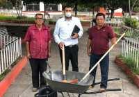 Gobierno de Rafael Mendoza en constante actividad en beneficio de los ciudadanos