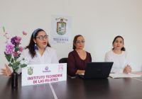 Instituto tecomense de las mujeres invita a atenderce, informarse y apoyar sobre los tipos de violencia