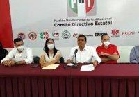 Presentan Kike Rojas y Esperanza Hernández su renuncia la dirigencia estatal del PRI