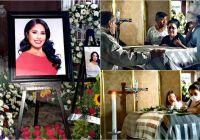 Entre lágrimas, porras y dolor, llegan a su pueblo Ixtlahuacán, los restos de la diputada Anel Bueno