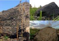 Encuentran mapa de piedra de Colima de 2 mil años de antigüedad