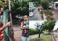"""""""Limpieza Ciudadana"""" en la comunidad Las Golondrinas."""