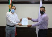 Gobernador designa a Javier Ceballos director del Registro Civil del Estado de Colima