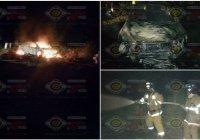 Se incendia vehículo por la carretera libre rumbo a Cuyutlán, en Armería, no hay lesionados