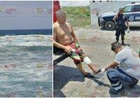 Rescatan viva a jovencita de Guadalajara que flotaba en aguas marinas de Cuyutlán