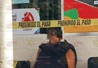 Muere al salir de la cárcel municipal de Tecomán; quedó sentado en una banca afuera de Movilidad