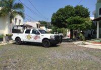 Fuerzas Federales llevan a cabo operativo de seguridad en Av V. Carranza, Colima