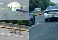 Muere arrollado ciclista en la carretera Tecomán-Colima; a la altura de Tecolapa