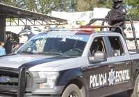 Policía estatal captura a cuatro sujetos con droga