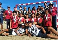 Colima subcampeón de handball en Festival Deportivo de Mar y Playa