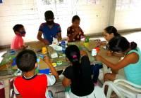 Imparten taller de escritura creativa para niñas y niños, en Cofradía de Suchitlán