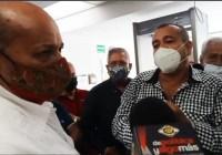 Jubilados y pensionados de la Policía Estatal exigen pago y juicio político en contra Nacho Peralta