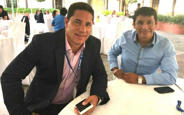 Fernando del Rincón y Henry Rafael Pintado