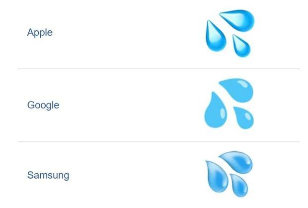 Emoticones de la cara derramando lágrimas (Foto: Emojipedia).
