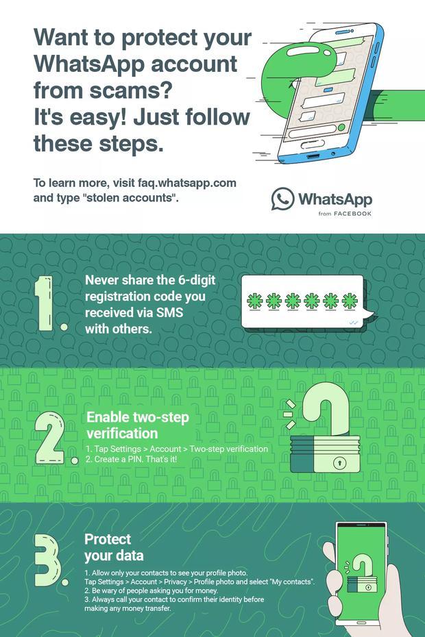 WhatsApp: tres detalles a tener en cuenta para evitar robos de cuentas. (Foto: WhatsApp)