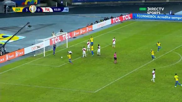Brasil 4-0 Perú: gol de Richarlison.  (Video: DirectTV)
