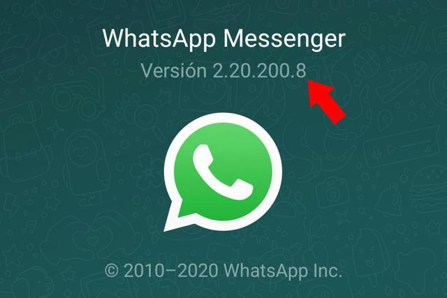 Ese número es el de la versión de la aplicación que tienes instalada en tu celular. (Foto: Captura de pantalla)