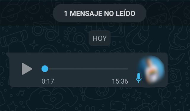 Conoce el método para que nadie se entere que escuchaste su audio de WhatsApp. (Foto: MAG)