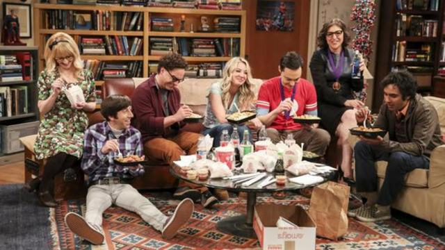 Although Sheldon drives his friends crazy, they can't help but love him (Photo: CBS)
