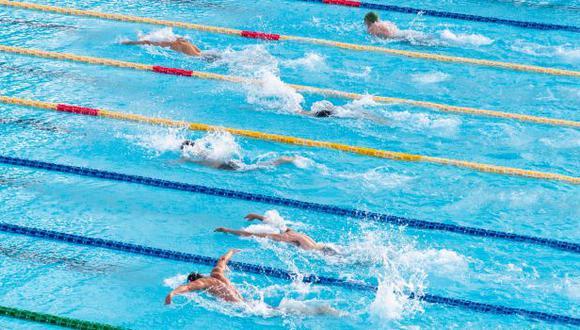 Academias de natación lograron retomar clases y estos son sus protocolos, (Difusión)