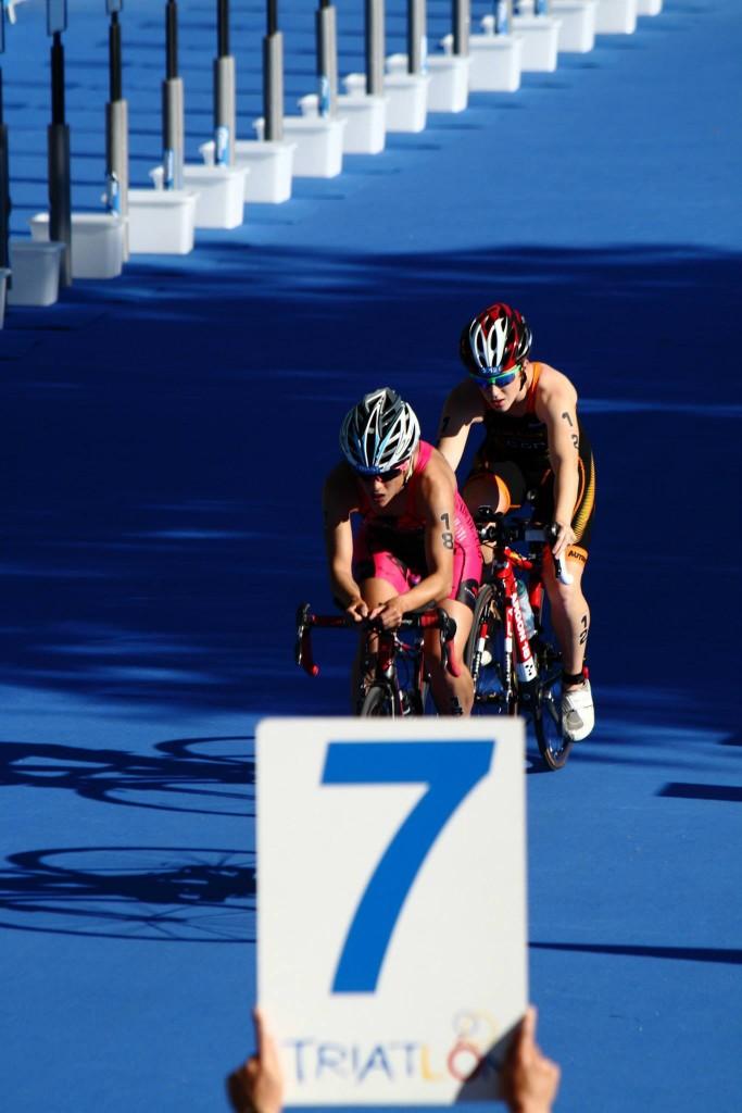 Y tras el ciclismo, la tercera prueba, la carrera a pie.