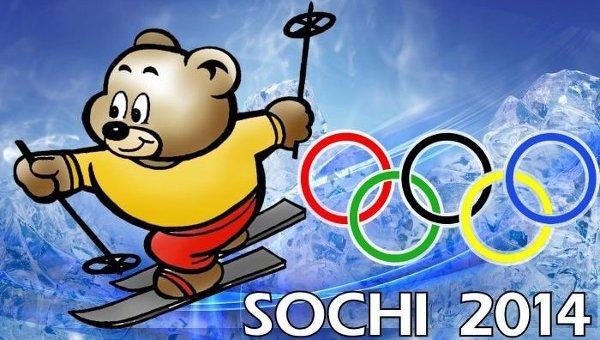 """El oso polar """"Beli Mishka"""" es una de las mascotas de los JJOO de Sochi."""