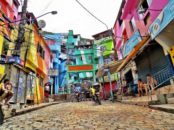 Las favelas completarán la oferta de alojamiento en Rio de Janeiro, una experiencia diferente para los turistas.