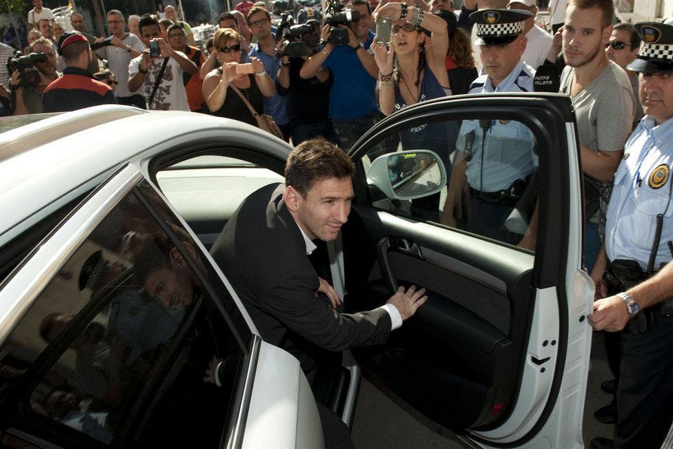 Los problemas con Hacienda de Leo Messi han  sido noticia en los últimos meses.