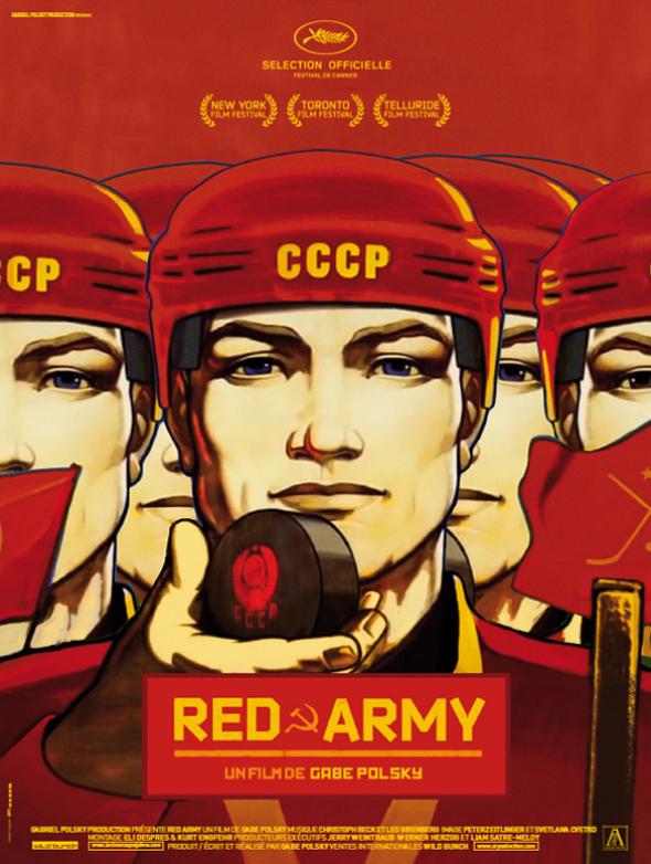 Póster oficial de la película 'Red Army' en la última edición del festival de Cannes.