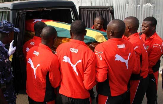 Tras sufrir un atentado, la selección de Togo declinó participar en la Copa de África 2010.
