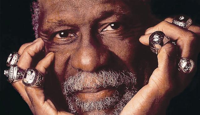 Bill Russell es el auténtico señor de los anillos de la NBA.