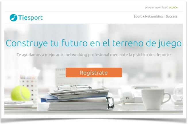 Tiesport pretende unir networking y práctica deportiva.