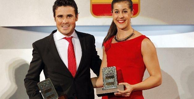 Javier Gómez-Noya y Carolina Marín esperan confirmar en los JJOO de Río su gran 2015.