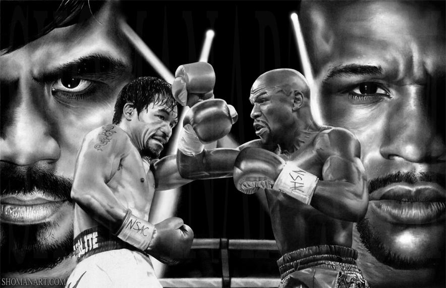 Mayweather y Pacquiao protagonizaron el combate más esperado de lo que llevamos de siglo.