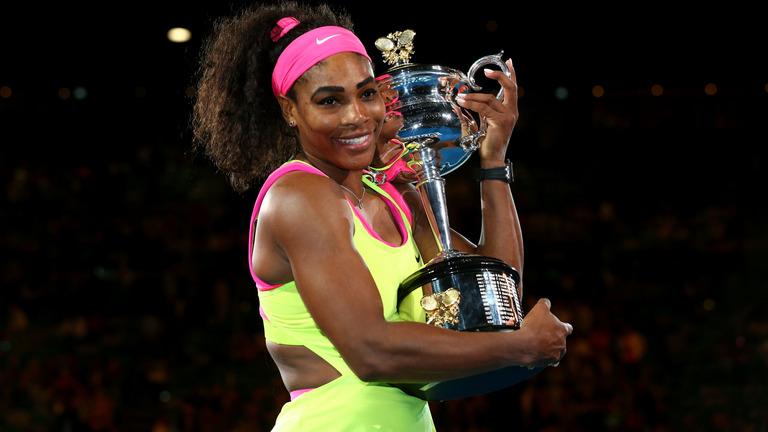 Serena Williams podría convertirse en 2016 en la jugadora con más títulos de Grand Slam.