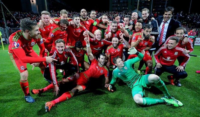 Para Gales estar en Francia ya es todo un éxito.