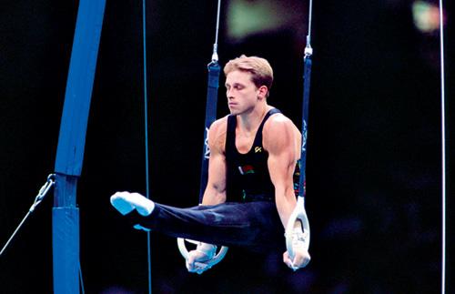 Con sólo 20 años Scherbo logró seis oros olímpicos en Barcelona 92.