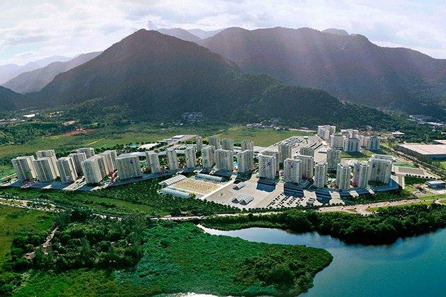 la flamante villa olímpica de Río estará situada en el barrio de Tijuca.