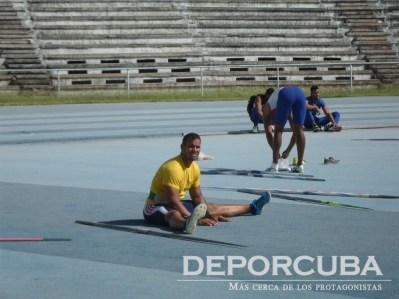 Integrantes del equipo nacional de jabalina