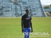 Equipo cubano de relevo 4x400 (Osmailer Pellicier)