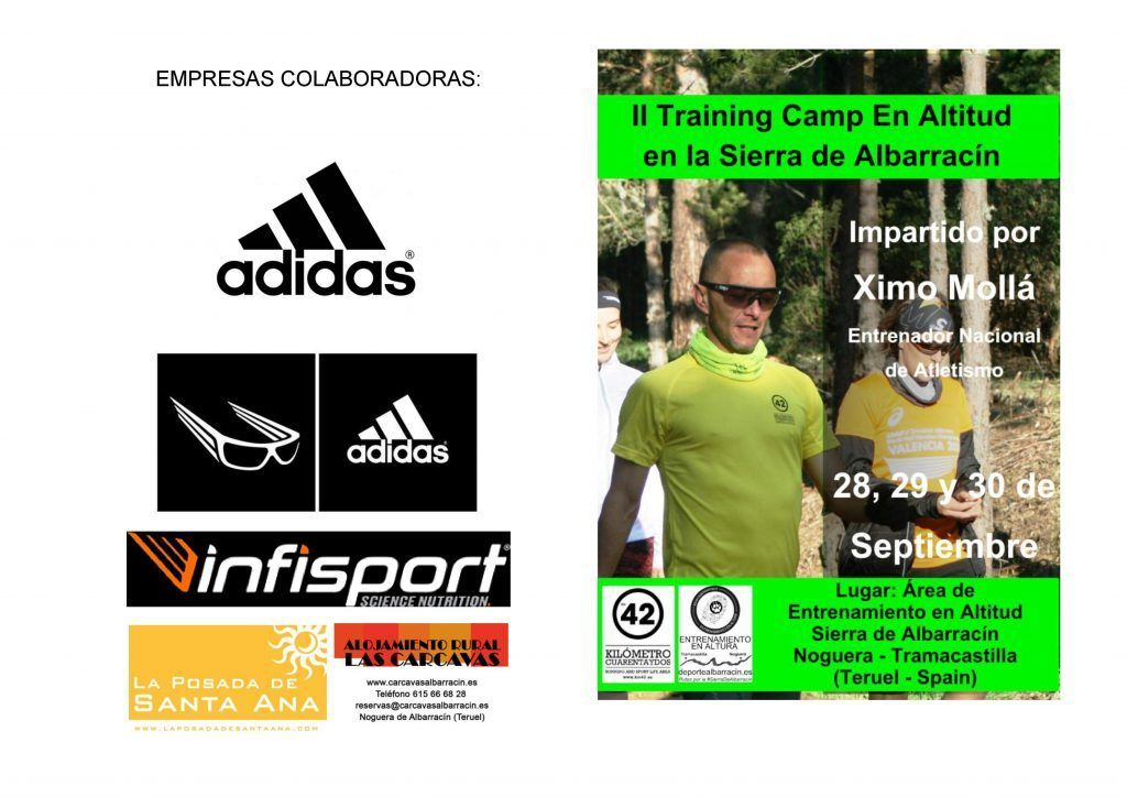 Colaboradores II Training Camp Running Sierra de Albarracin (Teruel)