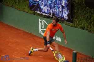 Enrique lópez finalista 57 Trofeo Dionisio Nespral de Tenis de Gijón 2021