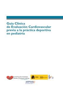 Guía clinica de evaluación cardiaca previa a la práctica deportiva en pediatría