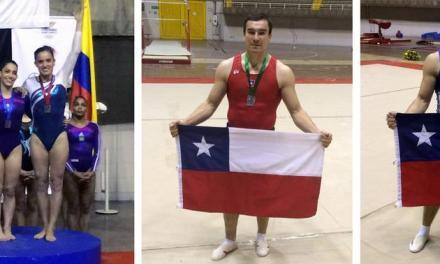 Gimnastas chilenos consiguieron podio en Sudamericano de la disciplina