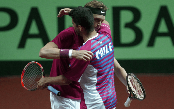 Chile cierra la serie ante México e irá por el ascenso en la Copa Davis