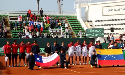 Chile sentencia la serie en el dobles y retorna a la Zona I de la Copa Davis